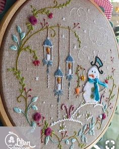 Embroidery Thread Los Angeles, Embroidery Designs Library, Embroidery Stitches In Usha Janome Allure after Crewel Embroidery Christmas Stocking Kits Dimensions Embroidery Designs, Crewel Embroidery Kits, Hand Embroidery Patterns, Quilting Designs, Cross Stitch Embroidery, Embroidery Thread, Simple Embroidery, Embroidery Tattoo, Christmas Embroidery Patterns