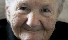 Irena Sendler -the female Oskar Schindler. Difference? There was no profit motive.