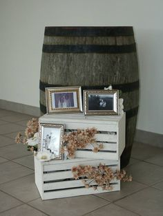 Barrels and crates Chantilly Lace, Lace Weddings, Barrels, Crates, Magazine Rack, Events, Cabinet, Storage, Furniture