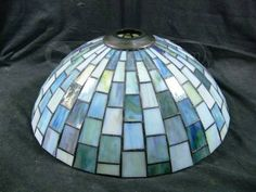 shopgoodwill.com: Stain Slag Glass Lamp Shade