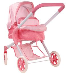 Gotz Doll Pram with Removable Carry Bag for Dolls up to 20""