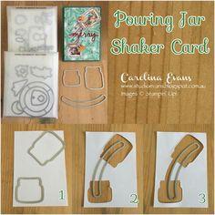 Carolina Evans - Stampin' Up! Card Making Tips, Card Making Tutorials, Card Making Techniques, Making Ideas, Scrapbooking, Scrapbook Cards, Stampin Up Anleitung, Mason Jar Cards, Tarjetas Pop Up