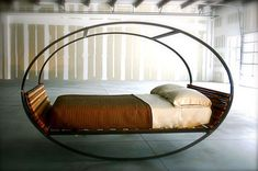 Mood Rocking Bed for Welcoming Summer Indoors designed by Joe Manus