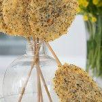 Lollipop al #formaggio, lo sfizioso #antipasto #natalizio