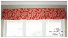Make Your Own Box Pleat Curtain Step by Step Instructions from Decorating Ideas Made Easy