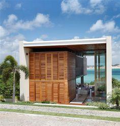 Casa moderna - Dupla estrutura de design