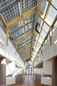Vidrio fotovoltaico laminado SUNEWAT XL - AGC Flat Glass Italia