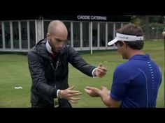 This is a cool video if you like magic tricks with some golfers.