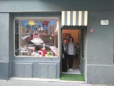 Nová dětská móda: Ice Ice Baby, Mile a Pán Medvedík Ice Ice Baby, Fashion Store Display