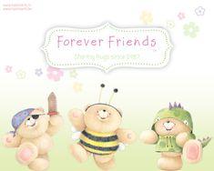 .ʕ •́؈•̀ ₎♥                                                     Forever Friends