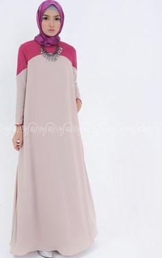 Dress - Syafina - Taza Abaya-Jubah & Abaya