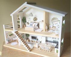 Las preciosas casitas de muñecas que probablemente nunca compraríamos a nuestros hijos