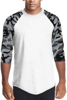 Raglan Sleeve Baseball T-shirt