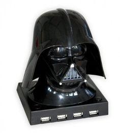 Amazon.com: Star Wars - Merchandise - Darth Vader Bust 4 Port USB Hub: Toys & Games