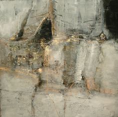Contemporary abstract paintings by artist Jeane Myers. I actually thing this is a...masterful work of art...the subltleness of the colors, the energy of the lines...nice!