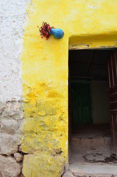 Peruvian Andes door