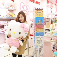 ELLE AND JESS: Rilakkuma and Hello Kitty Store (Kiddy Land, Japan ...