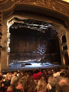 Waiting for Godot, Cort Theatre - Not a musical, I realize, but come on, it's Waiting for Godot.
