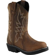 Cowgirl work boots!