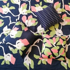 Bring this beautiful new Marimekko collection home with you and warm up your space!