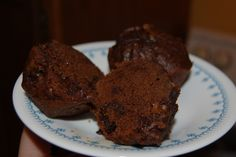 Double Chocolate Chip Pumpkin Muffins