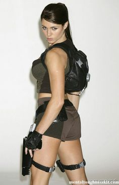 Model alison carroll tomb raider