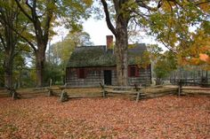 Wick House, Morristown National Historic Park, was built c. 1750.  It served as the military headquarters for Major General Arthur St. Clair during the 1779-80 Jockey Hollow Encampment of the Continental Army.