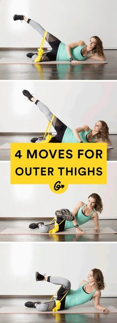 Excersices For Legs At Home and At The Gym - 4. Dancer Lift #leg #thigh #workout greatist.com/... - Strengthening our legs is an exercise that we are going to make profitable from the beginning and, therefore, we must include it in our weekly training routine