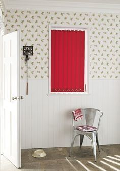 Add a pop of colour into your home by matching accessories to your wallpaper patterns.