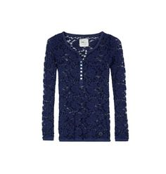 Lace blouse with buttons Bell Sleeves, Bell Sleeve Top, Buttons, Blouse, Lace, Long Sleeve, Sweaters, Collection, Tops