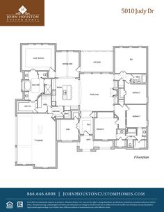 House plan elevation on pinterest 246 pins for Custom home plans houston