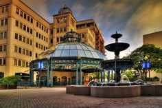 Klemen Plaza, Tallahassee. I went here on lunch breaks when I worked at the Department of Education.