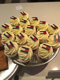 Tommy Hilfiger cupcakes, @ Bijenkorf Den Haag