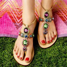 """Mystique shoes: """"Honolulu"""""""