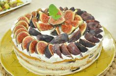 İncirli Pasta Tarifi;
