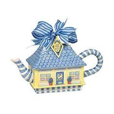 Tea Room Tea Pot - so cute!