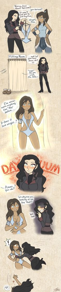 Sexy korrasami comic! LOVE IT!!