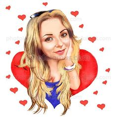 Love Caricature by Photolamus