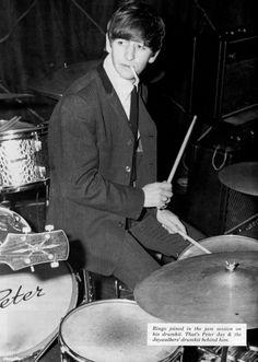Ringo at a Jam Session 1963