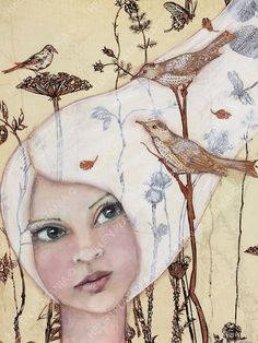 View current and past mixed media works from Helen Platania.