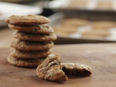 Ree Drummond's Brown Butter Chocolate Chunk Cookies with a secret ingredient (Instant Coffee) Have to make these!!!