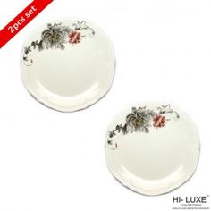 Hi Luxe Silver Fish Quarter Plate Crown Dec Forever