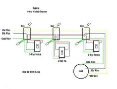 What is intermediate switch its construction working principle and 4 way switch wiring diagram cheapraybanclubmaster Gallery