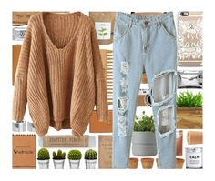 """""""Sheinside V Neck Sweater & Casetify Phone Case"""" by xgracieeee ❤ liked on Polyvore featuring Casetify, Comme des Garçons, Paul Frank, Hermès, The Body Shop, Billabong, Rig-Tig by Stelton, Monki, H&M and INC International Concepts"""