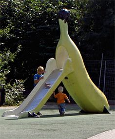 The Fruit and Scent Playground Liljeholman, Sweden   From David Israel's 10 Unusual Playgrounds from Around the World
