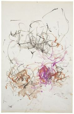 """topcat77: """"Joan Mitchell untitled, 1967 colored pencil and watercolor on paper """""""