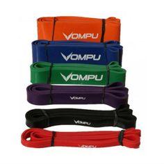 OMPU power gummiband är ett optimalt träningsredskap för funktionell träning. Perfekt för rehabilitering, hemmaträning, fitnessklasser, crossfit, och bootcamps. OMPU power gummiband är en typ av redskap som kan användas för nästan alla styrketränings övningar.