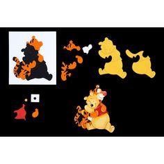 Disney Winnie The Pooh Best Friends Die (389776) | Create and Craft