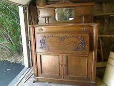 quarter sawn oak murphy bed w desk beveled mirror 120000 available thru vender beautiful murphy bed desk