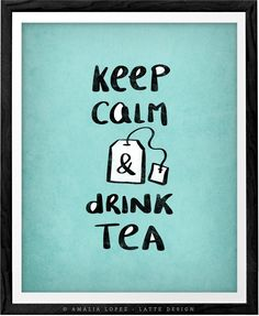 Keep calm and drink tea print keep calm poster British poster British print keep calm print turquoise tea print teal kitchen tea quote print. Keep calm and drink tea print in yellow, blush or turquoise. The print has a light vintage effect you can see in the last picture. Perfect print for your kitchen, office space or as a present to any tea lover. - Heavyweight archival art paper printed using archival pigment inks for a lifetime. - Each piece is a one-off giclee fine art print of…